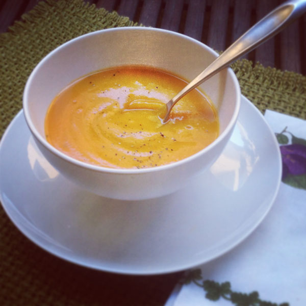 Basic Butternut Squash Soup