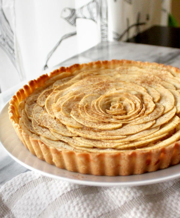 Rustic Apple-Cinnamon Tart Recipe — Dishmaps