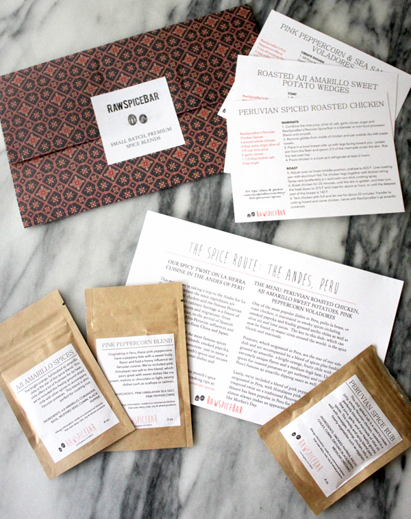 RawSpiceBar Subscription
