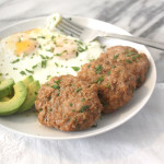 Baked Turkey Breakfast Sausage Patties - Healing and Eating