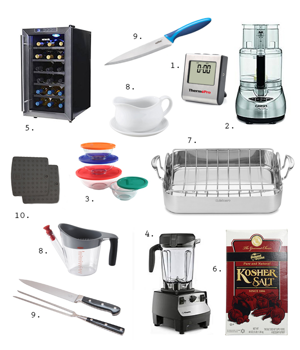 Ten Kitchen Essentials for Thanksgiving